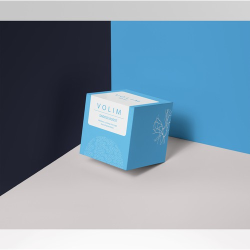 Package for VOLIM cosmetic brand