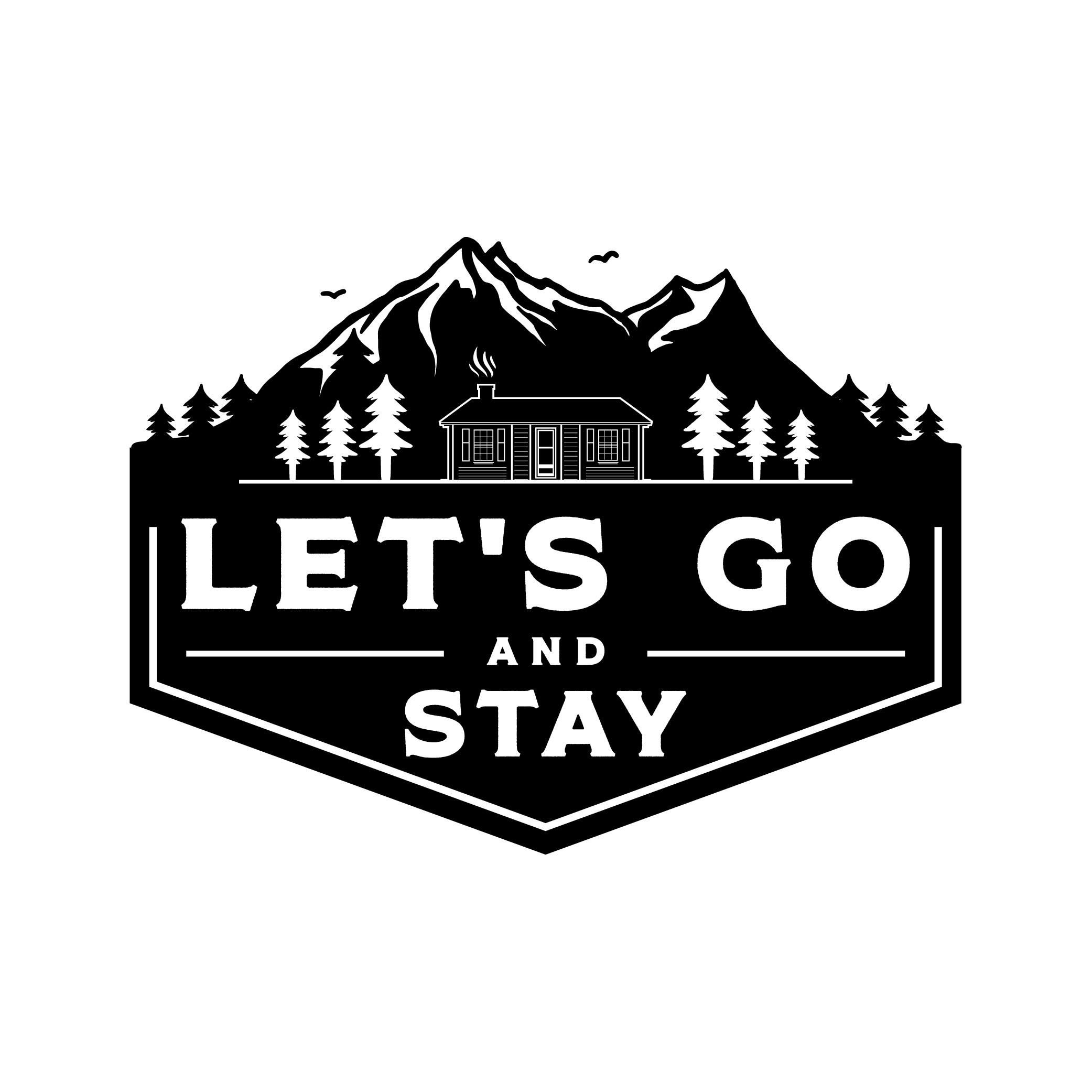 Design a logo for a unique short-term rental company