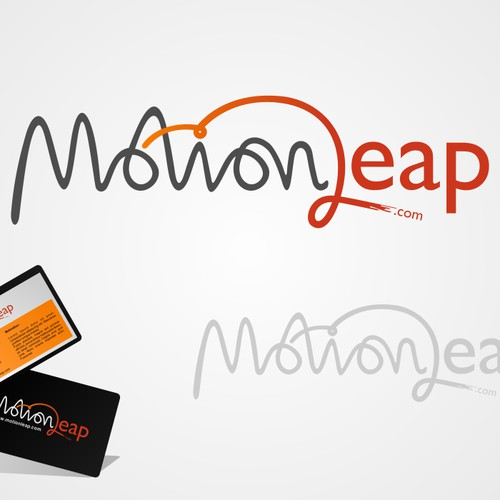 it's motion and leap