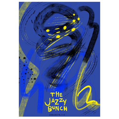 poster for jazz club