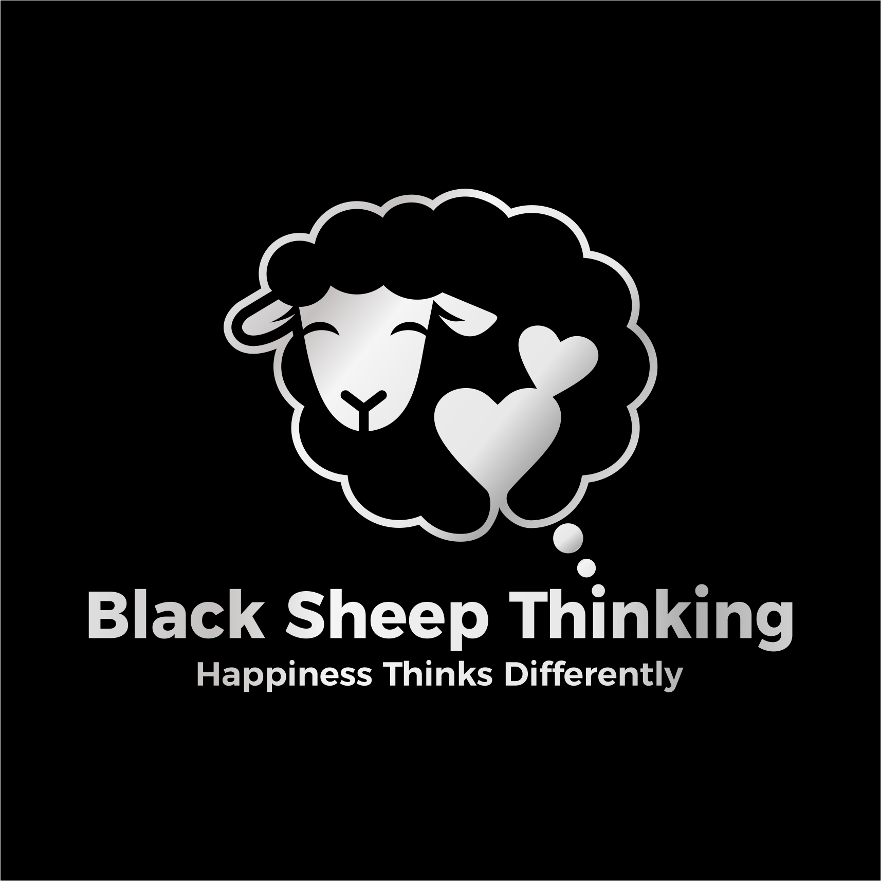 Happiness thinks differently and we need a logo to show that!