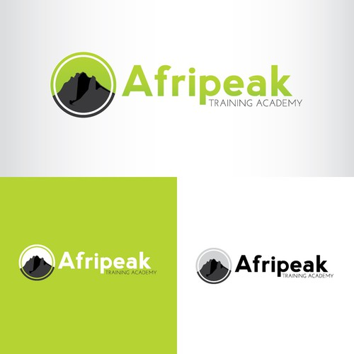 Professional & Innovative Logo for Afripeak Training Academy
