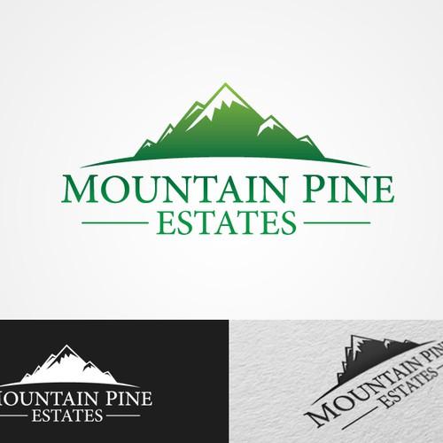logo for Mountain Pine Estates