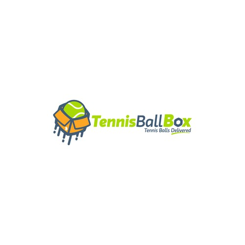 An Awesome logo for tennis ball delivery
