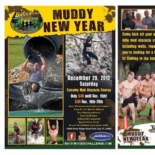Backwoods Challenge LLC  needs a new postcard or flyer
