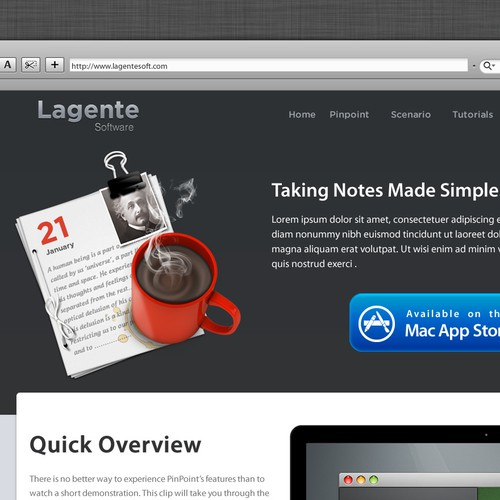 Create the next icon for Lagente Software's next app