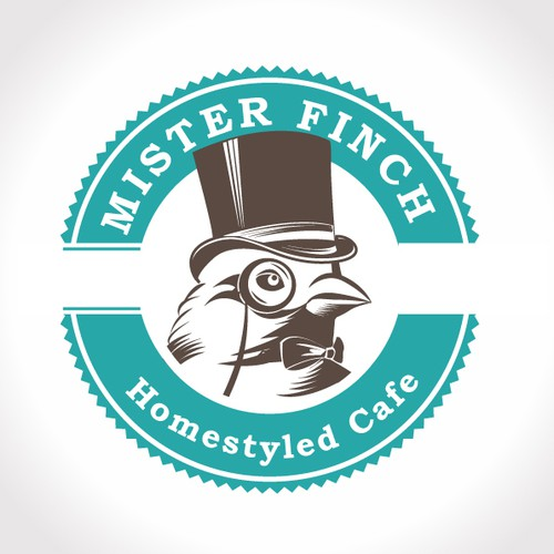 Create the next logo for Mr Finch
