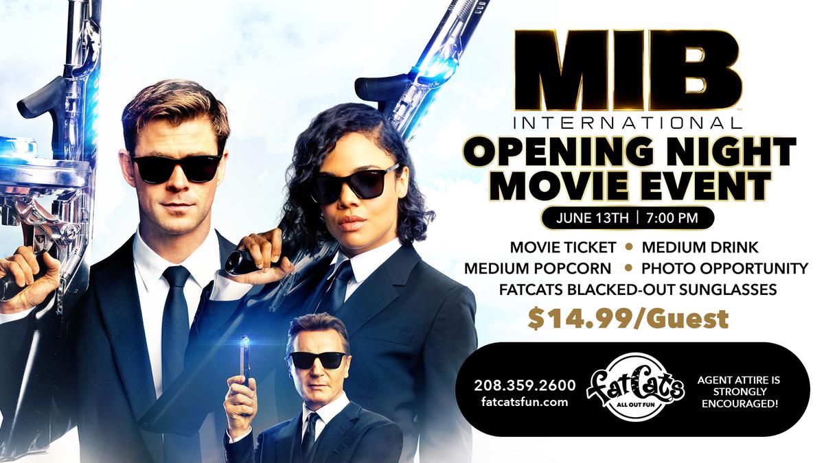 MIB International Movie Event Poster