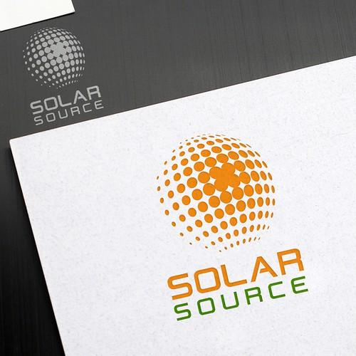 Solar Company Modern Icon & Logo