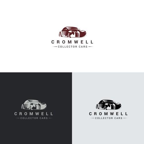 Automotive Logo for classic car sales