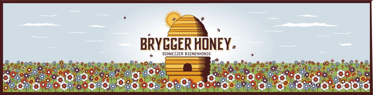 Label for honey jar