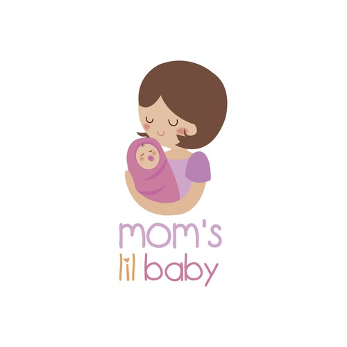 Logo concept for baby store