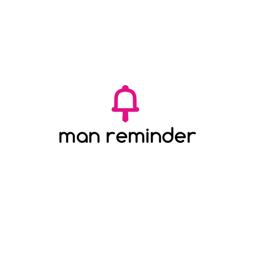 Help husbands remember by creating an app logo for Man Reminder, the couple's reminder app