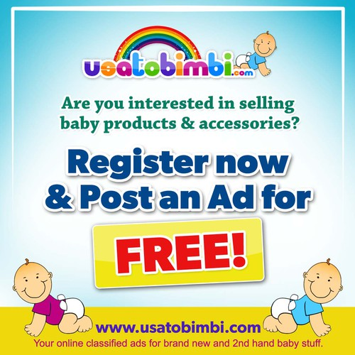 New postcard or flyer wanted for usatobimbi.com
