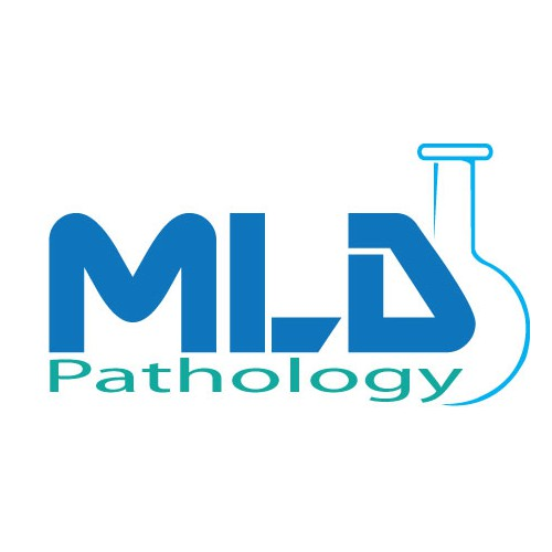 Logo for a medical laboratory
