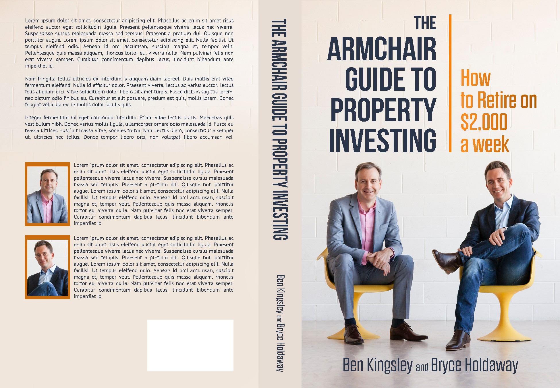 Creating a must-read book cover for Australian property investment readers
