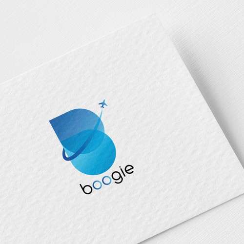 Logo For Boogie, A Travel & Tours agency.
