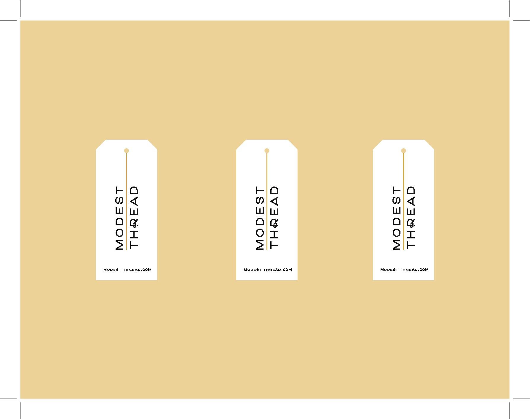 Fashion Label Tag Design, pretty please take part :)