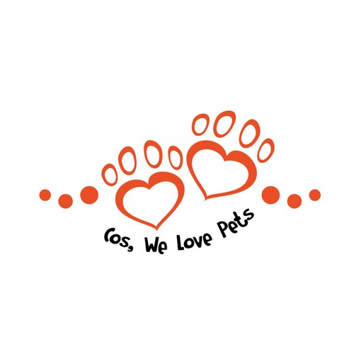 Logo concept for pet products manufacturer