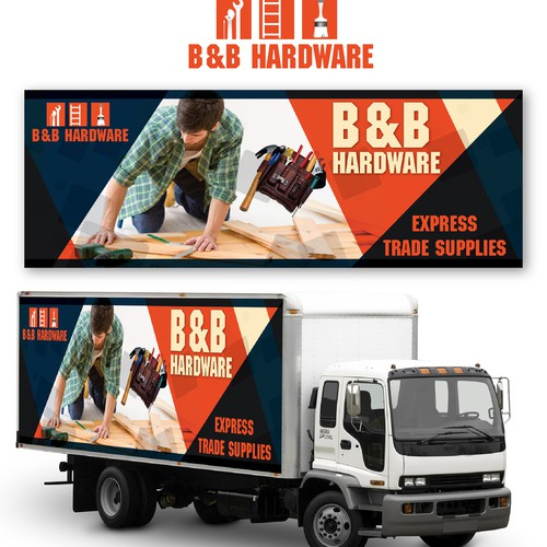 Truck Wrap Needed for B&B Hardware