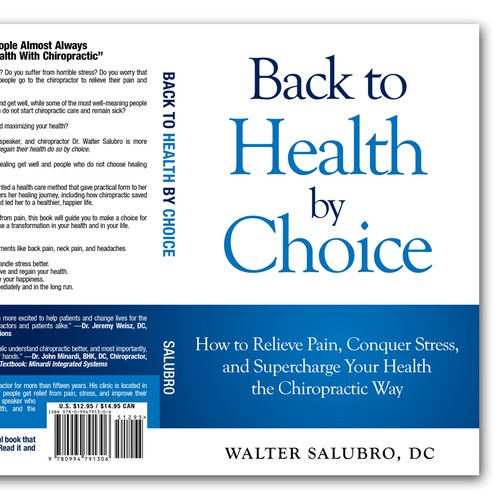Book cover for health & fitness
