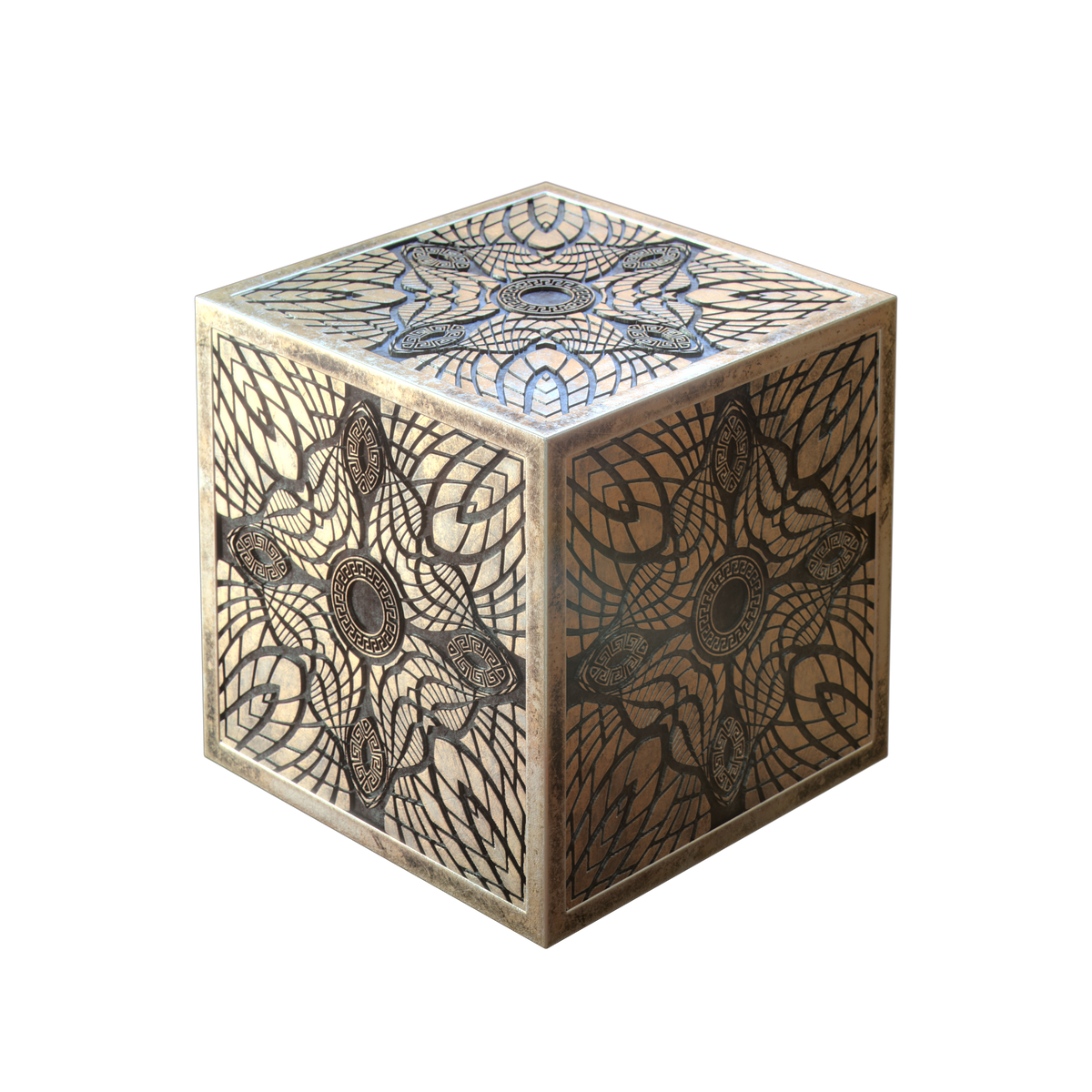 3D Jewelry Cube - Pattern E