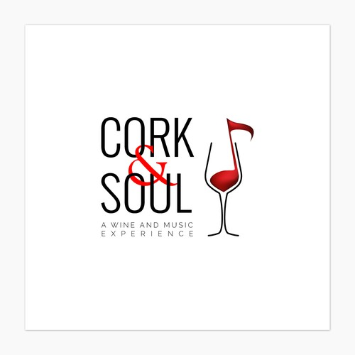 Cork & Sould - a trendy and cool logo