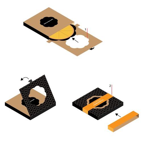 Unique pizza packaging concept