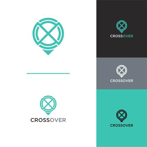 Simple geometric logo design