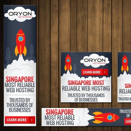 Create Web Ads for Oryon Networks cloud hosting