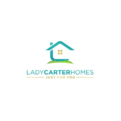 Clean,creative,modern&powerful logo for Lady Carter Homes.
