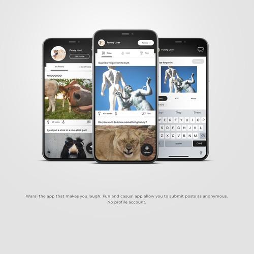 Warai App Design