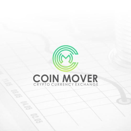 Coin Mover logo design