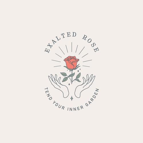 Modern logo for a spirituality brand for women
