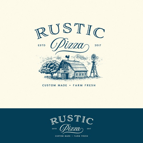 Logo for Rustic Pizza
