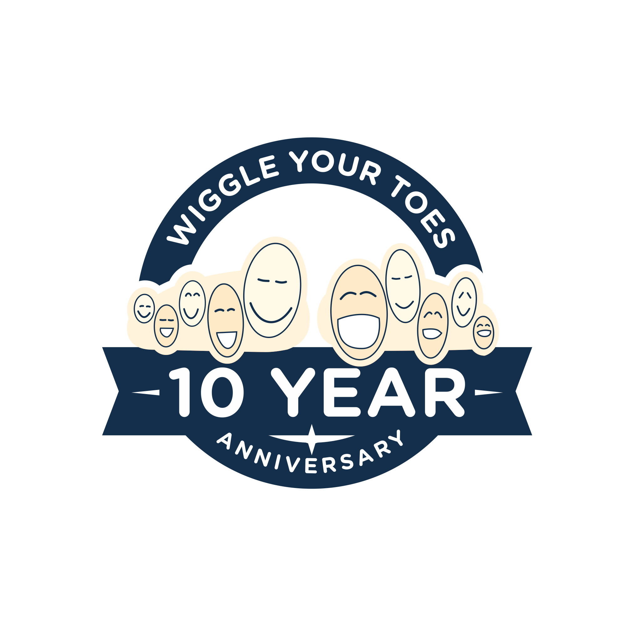 Wiggle Your Toes - 10 year anniversary
