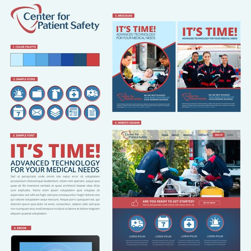 Mood Board for Emergency Medical Services