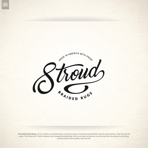 Logo concept for Stroud Braided Rugs
