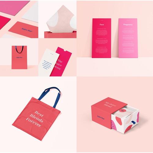 Juice Bar Branding Concept