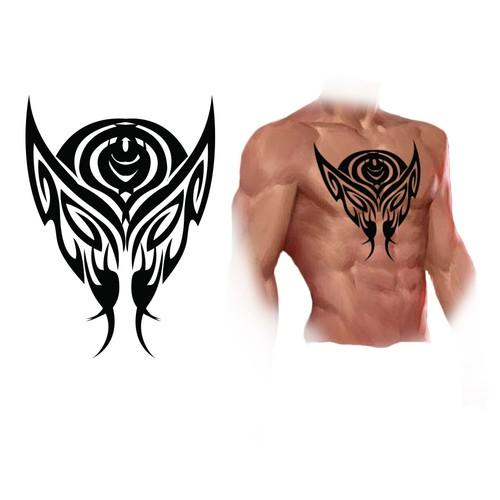 wolverine tattoo design