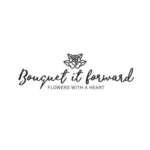 Logo concept for a flower shop
