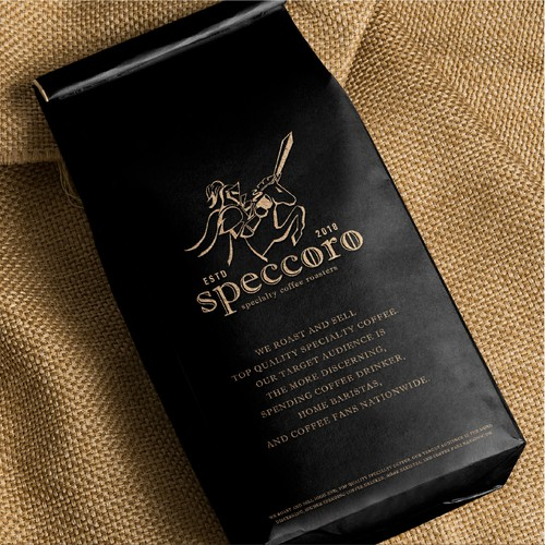 speccoro coffee roaster branding