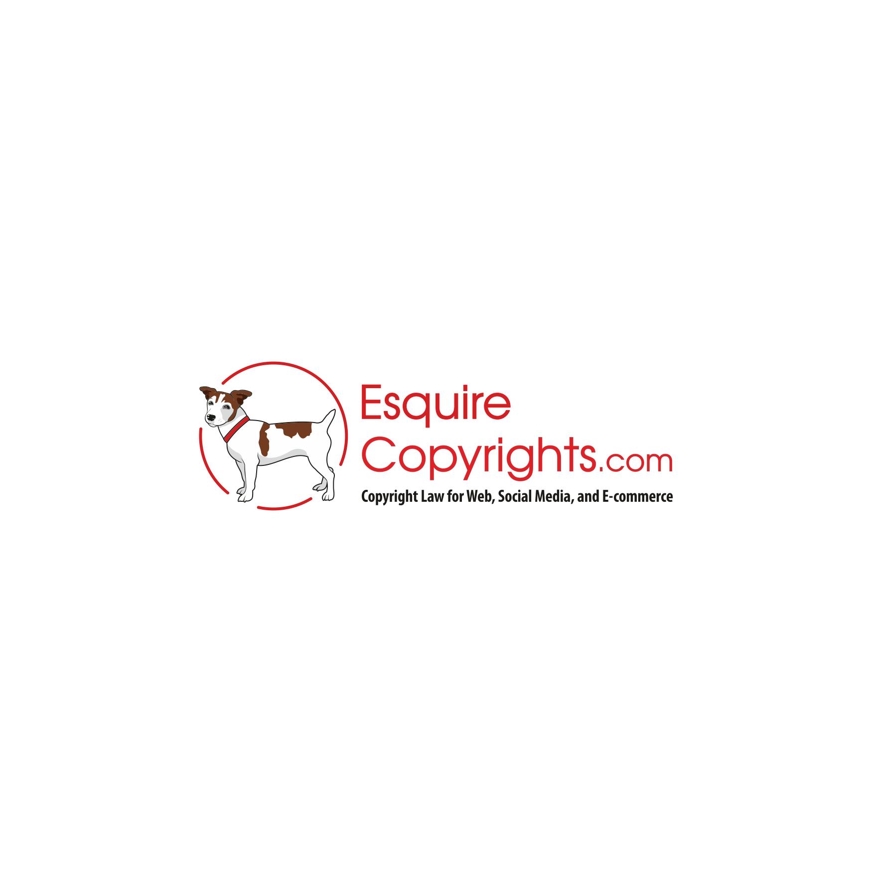 Dog Wesley's Logo for EsquireCopyrights.com