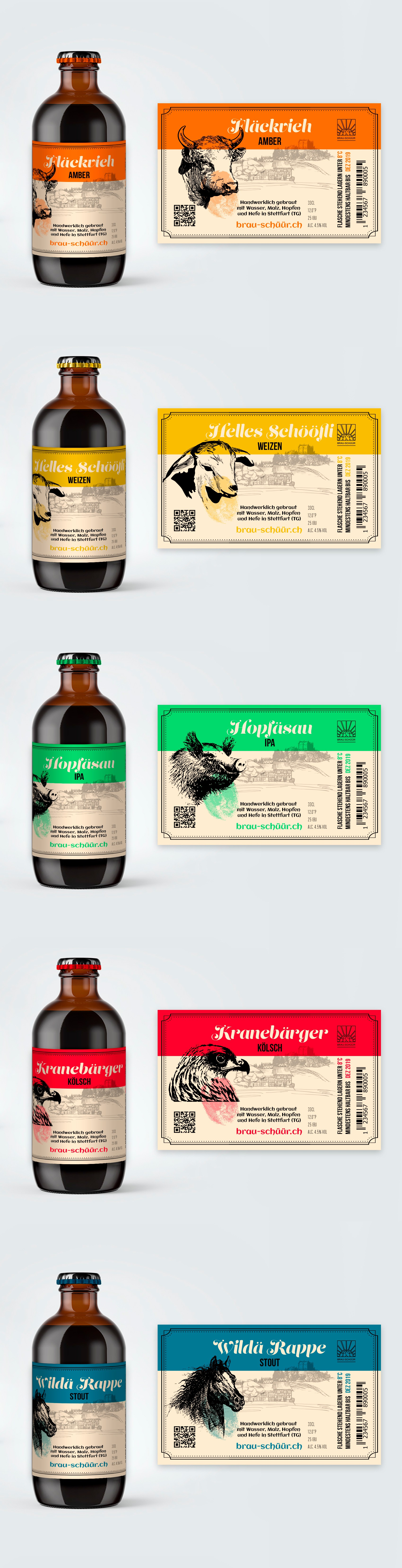 Design a unique beer brand.