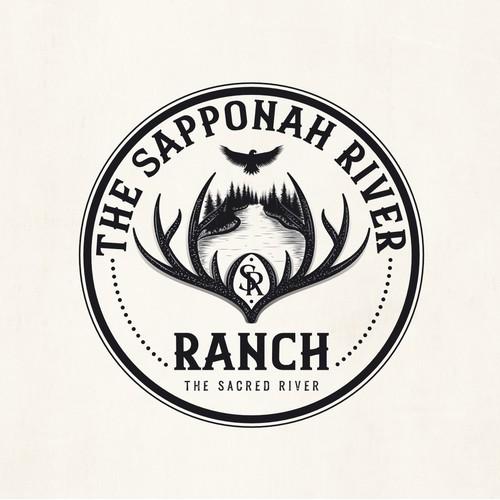 Ranch vintage logo
