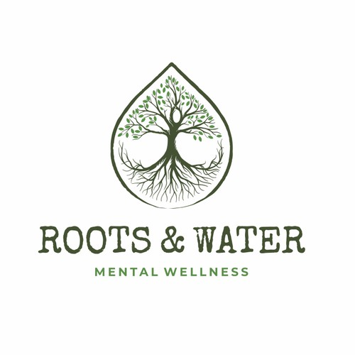 Hand drawing logo for Root and Water