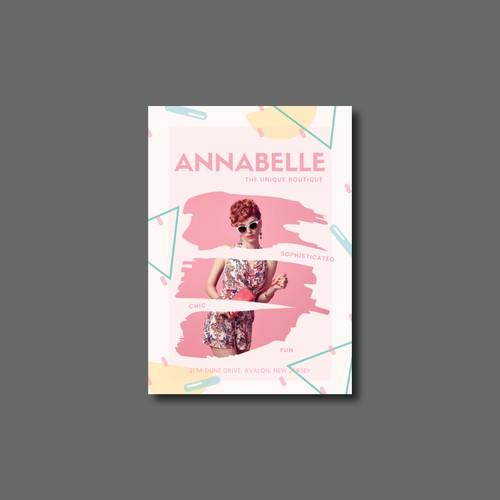 Creative ad for Annabelle