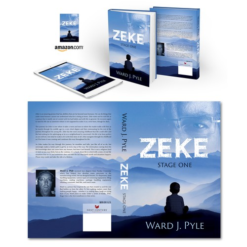 "Book cover for ""Zeke"""