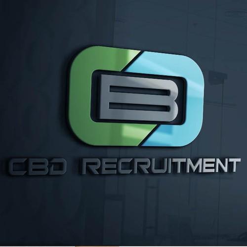 bold logo concept for a recruitment company