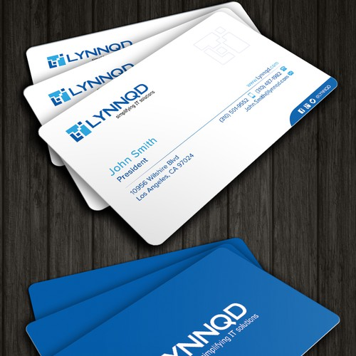 Lynnqd - an IT consulting firm needs kickass business card design